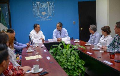Acuerdan UNACH y el Ayuntamiento de Teopisca trabajar conjuntamente a favor del desarrollo educativo