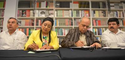 Acuerdan UNACH y el Ayuntamiento de Las Rosas realizar acciones conjuntas para el bienestar de la sociedad