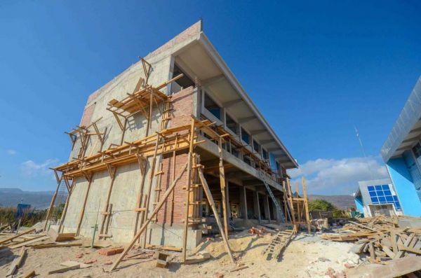 Avanza la construcción del Laboratorio Regional de Cómputo de Alto Desempeño de la UNACH