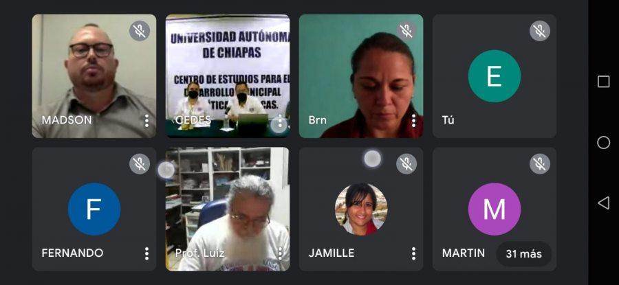 Estrecha UNACH vínculos de cooperación internacional con Universidad Brasileña