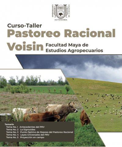 Impartirá UNACH curso taller  sobre el Sistema Pastoreo Racional Voisin