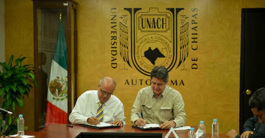Emprenderán UNACH y la SEMAHN acciones a favor de la preservación del medio ambiente en Tapalapa