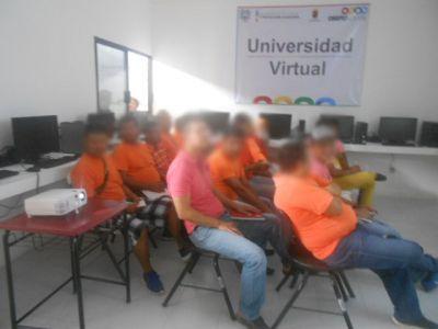 Realizan Módulo de Inducción 90 personas privadas de su libertad que cursarán una carrera en la UNACH