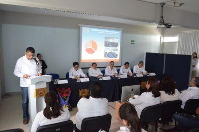 Rinde su Tercer  Informe de Actividades el director de la Facultad de Ciencias en Física y Matemáticas de la UNACH, Sendic Estrada Jiménez