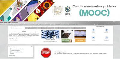 Se matriculan 7 mil 208 participantes en 19 MOOC ofertados por la UNACH
