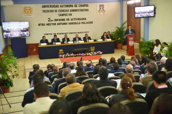 Cumple Facultad de Ciencias Administrativas de la UNACH con las metas establecidas en Comitán