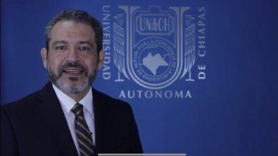 Realiza UNACH el Primer Congreso Internacional de Derecho Convencional a través de una plataforma virtual