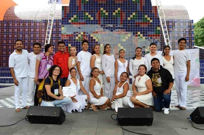 Participa Compañía de Danza de la UNACH en la  Feria de las Lenguas Indígenas Nacionales 2017