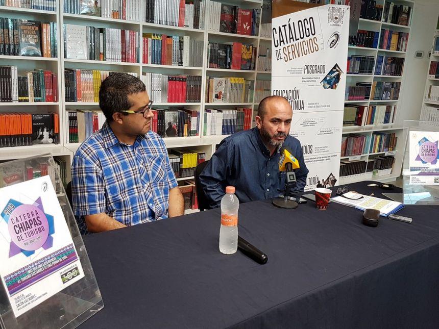 Anuncia UNACH la realización de la Cátedra Chiapas de Turismo 2018