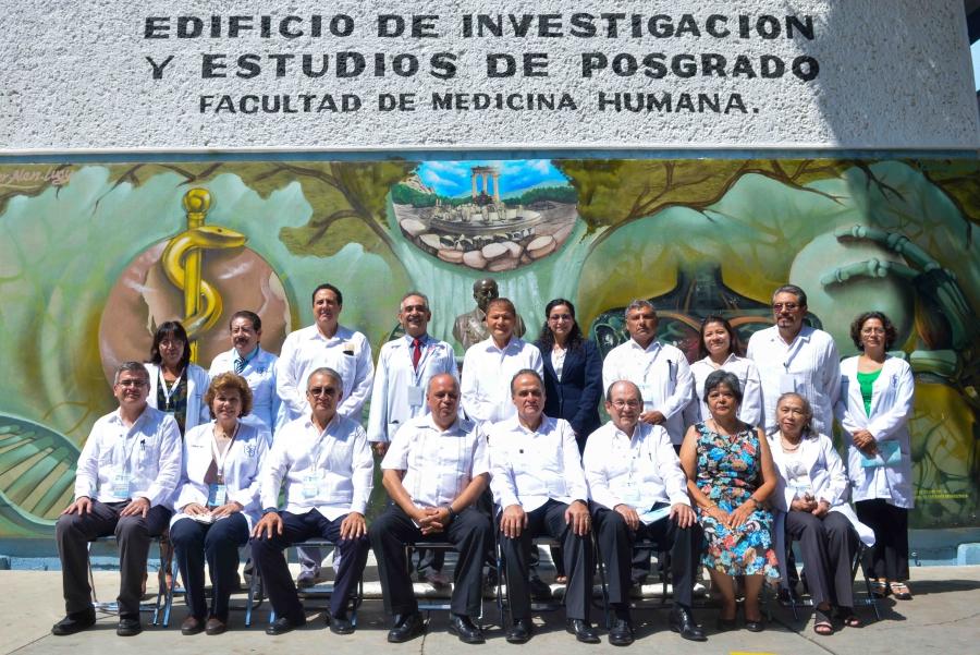 """Inaugura el presidente del CUMEX, Humberto  Veras Godoy las actividades de la Cátedra en Medicina """"Ignacio Chávez"""" en la UNACH"""