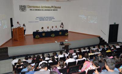 En el Campus IV Resaltan la calidad académica, responsabilidad social e internacionalización en el Instituto de Biociencias UNACH