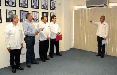 Designa Junta de Gobierno de la UNACH a Julio César Gómez Hernández, como director de la Escuela de Ciencias Químicas