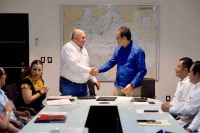 Suscribe UNACH convenio de colaboración con la Secretaria  de Obras Públicas de Chiapas