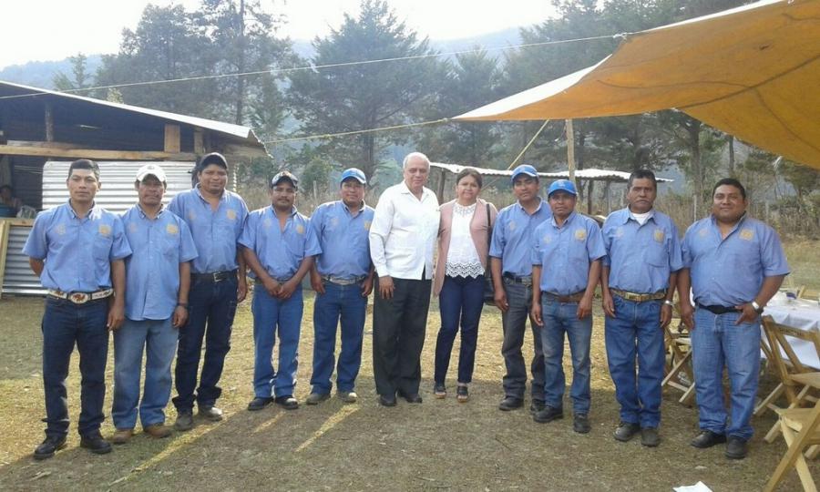 Recorre el rector de la UNACH, Carlos Eugenio Ruiz Hernández, las instalaciones del CETNO en Teopisca