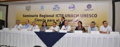 """Organiza UNACH el Seminario """"El Instituto Mesoamericano para las Ciencias y las Políticas Científicas de la Región"""""""