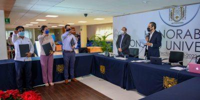 Eligen a tres nuevos integrantes de la Junta de Gobierno de la UNACH