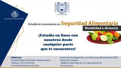 Fortalece UNACH la Seguridad Alimentaria formando profesionales en la materia