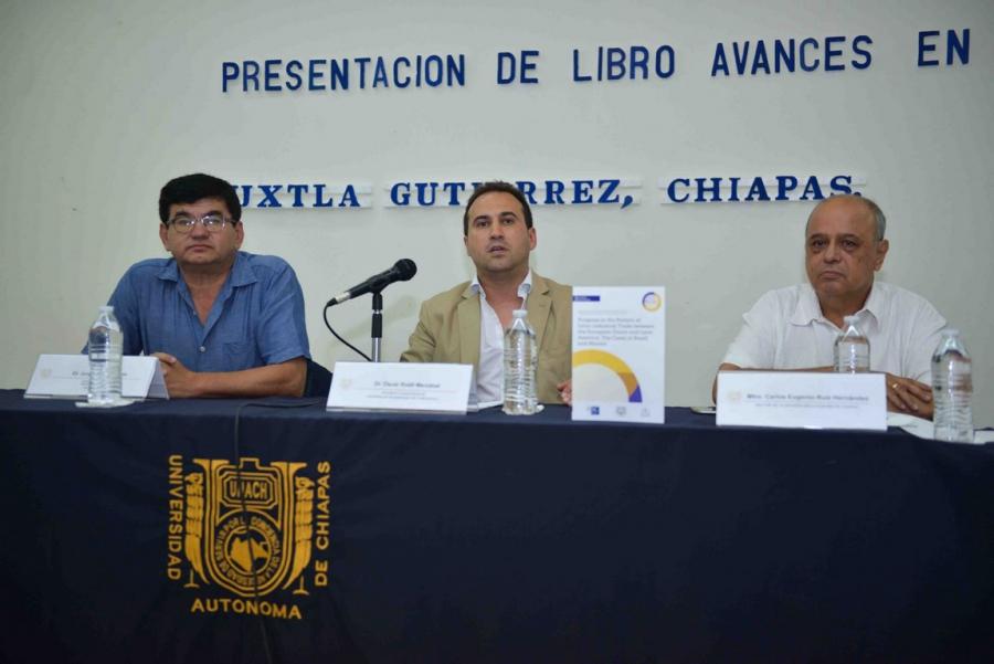 Presentan el libro: Avances en el Patrón de Comercio Intra-industrial entre la Unión Europea y América Latina: Los Casos de Brasil y México