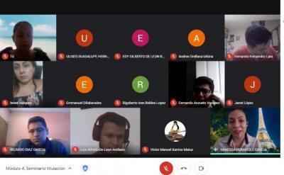 Imparten Seminario de Titulación en la Facultad de Negocios de la UNACH
