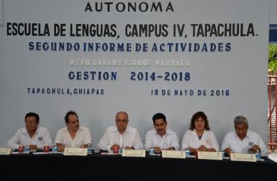Exponen avances de la Escuela de Lenguas-Tapachula de la UNACH