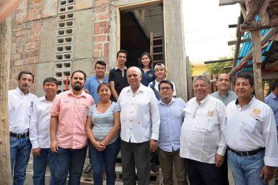 Proyecto de vivienda de la UNACH lleva beneficios a personas damnificadas por el sismo