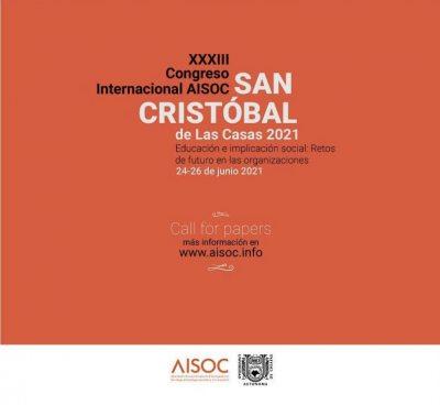 """Será UNACH sede del XXXIII Seminario Internacional de AISOC """"Educación e implicación social: Retos de futuro en las organizaciones"""""""