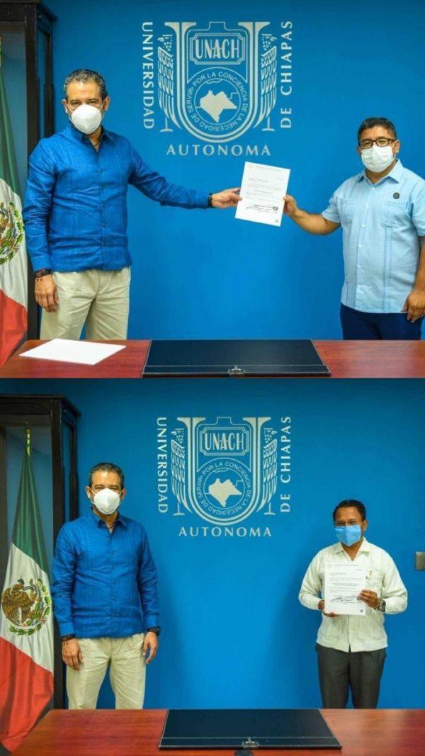 Designan en la UNACH a Gabriel Castellanos de la Torre como director de Servicios Escolares