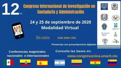Realiza UNACH Congreso Internacional de Investigación en Contaduría y Administración